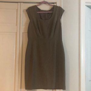 ANN TAYLOR CAP Sleeve work dress
